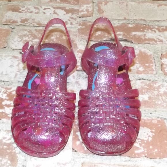 Pink Sparkle Dora Jelly Shoes
